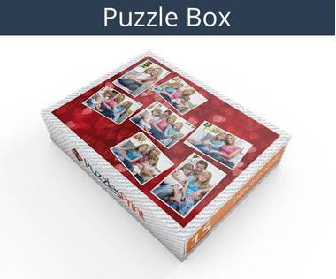 15 piece photo collage jigsaw puzzle box