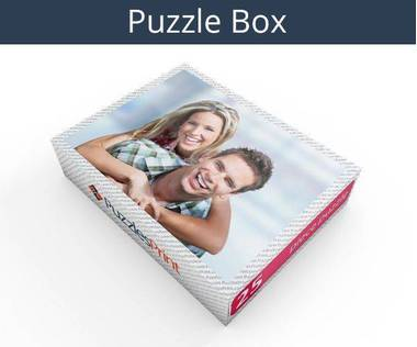 25 piece personalized photo jigsaw puzzles box