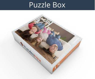 15 piece plastic photo puzzle box