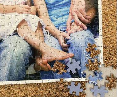 2000 piece photo collage