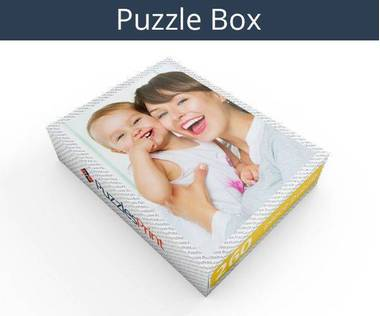 260 piece personalized photo jigsaw puzzles box