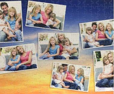 260 piece photo collage jigsaw puzzle