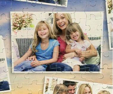 260 piece photo collage puzzle
