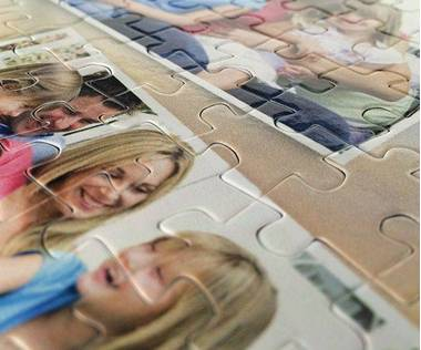 260 piece photo collage jigsaw