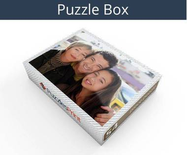 54 piece magnetic photo jigsaw puzzle box