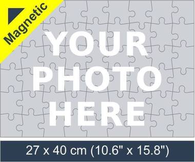 54 piece magnetic photo jigsaw puzzle