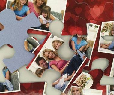 15 piece photo collage