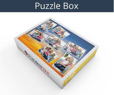 260 piece photo collage jigsaw puzzle box