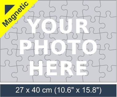 35 piece magnetic photo jigsaw puzzle
