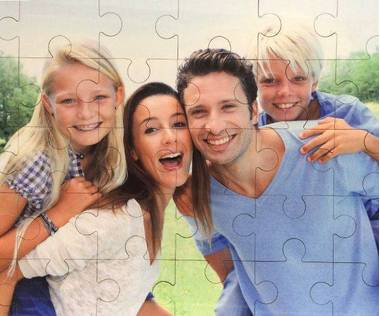 30 piece wooden photo jigsaw puzzle