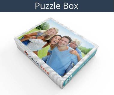 30 piece wooden photo jigsaw puzzle box
