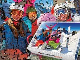 Magnetic Photo Jigsaw