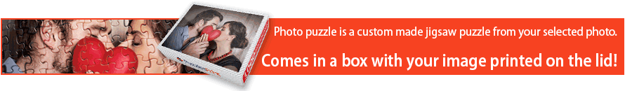 Personalized custom picture puzzles