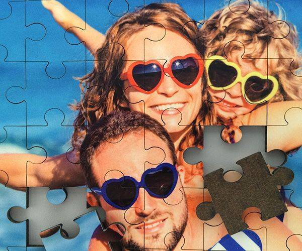 Make Wooden Puzzle