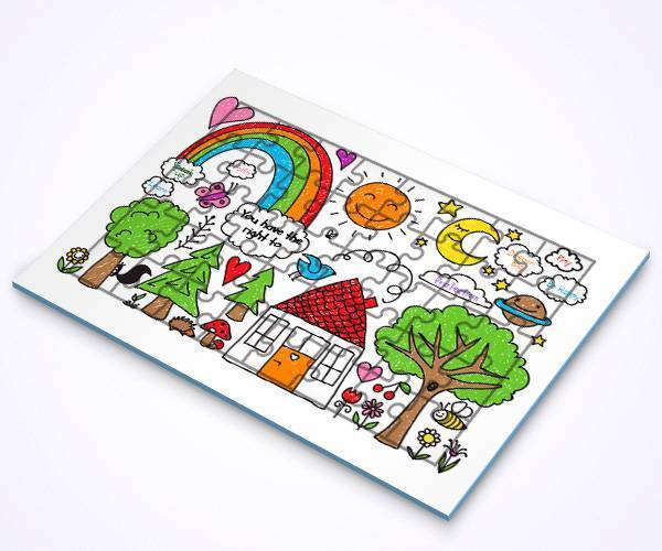 Double Sided Jigsaw Puzzles