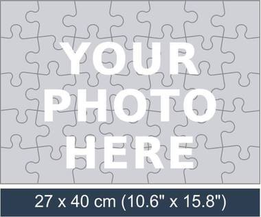 35 piece personalized photo jigsaw puzzle