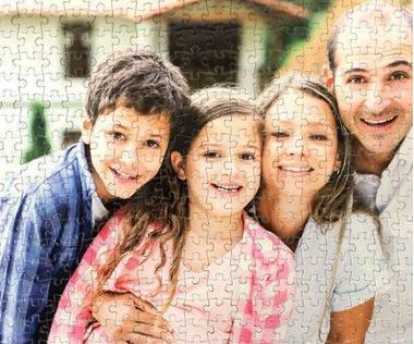 500 piece photo jigsaw puzzle
