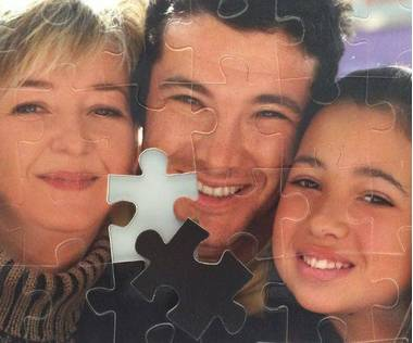 54 piece magnetic custom jigsaw puzzle