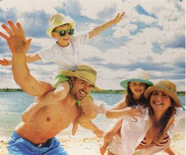 54 piece photo jigsaw puzzle