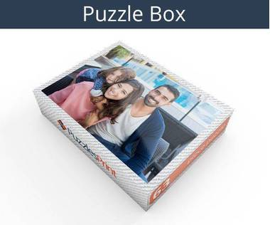 63 piece personalized photo jigsaw puzzles box