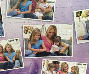 108 piece photo collage puzzle