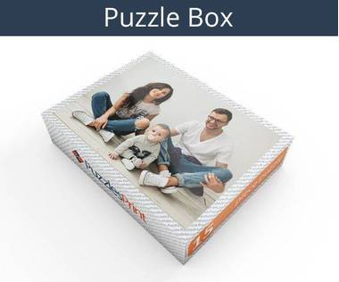 15 piece magnetic photo jigsaw puzzle box