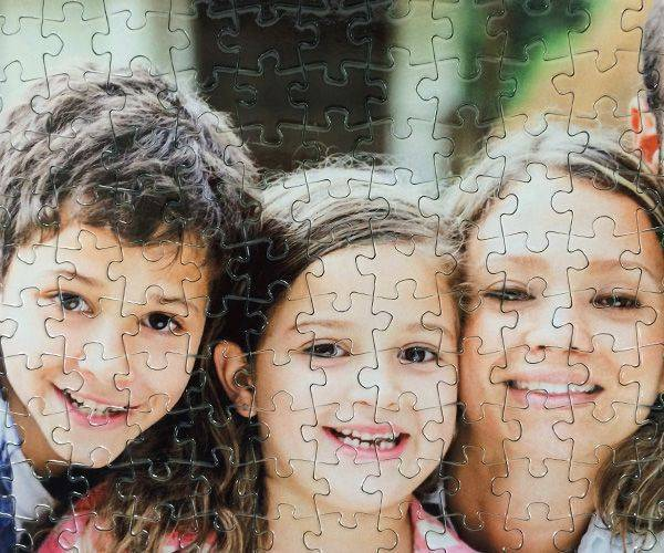 500 piece personalised photo jigsaw