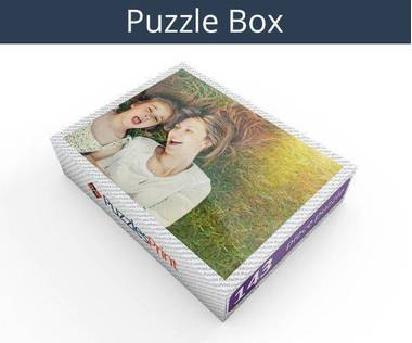 143 piece personalized photo jigsaw puzzles box