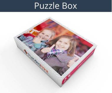 25 piece magnetic photo jigsaw puzzle box