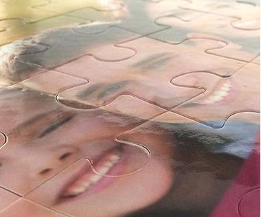 35 piece personalized photo puzzle
