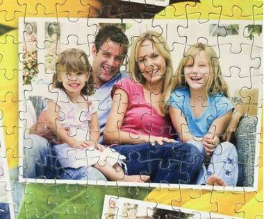 500 piece photo collage puzzle
