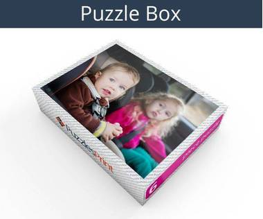 6 piece magnetic photo jigsaw puzzle box